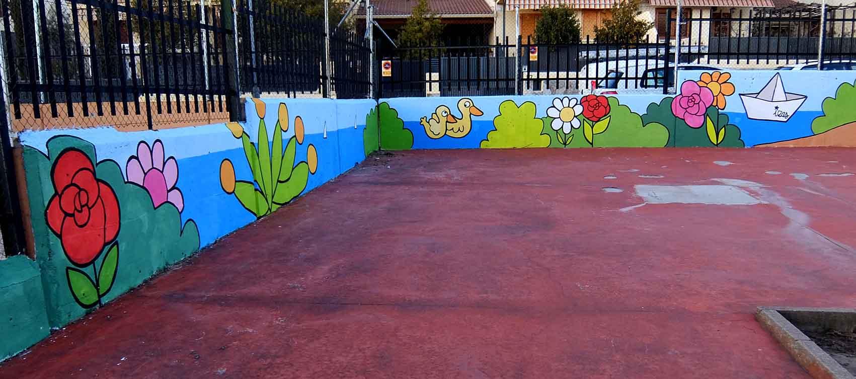 mural izas tierno galván infantil 1