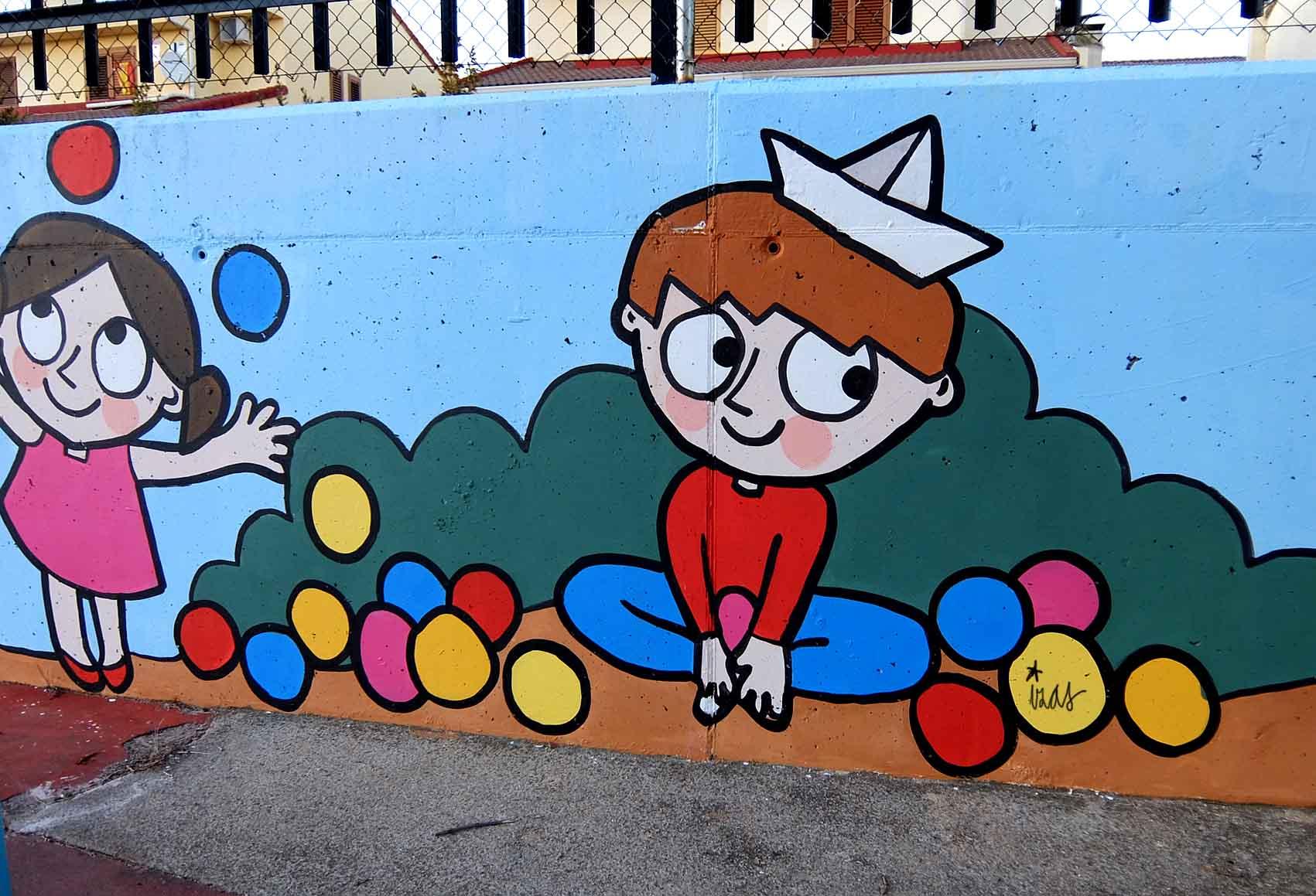 mural izas tierno galván infantil 4