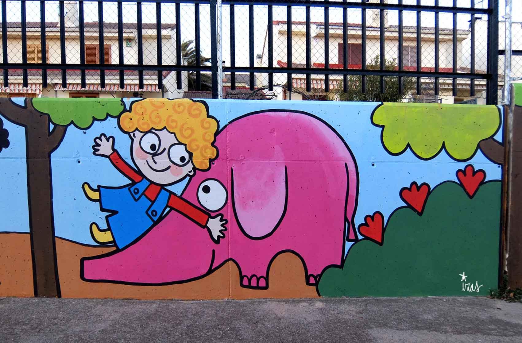 mural izas tierno galván infantil 5