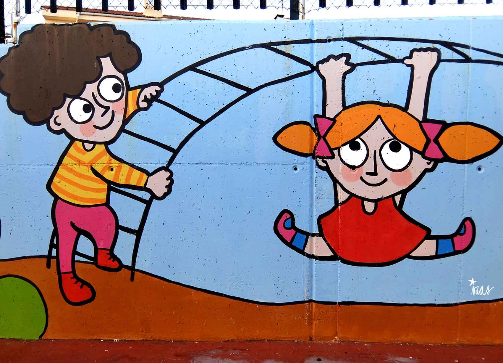 mural izas tierno galván infantil 7