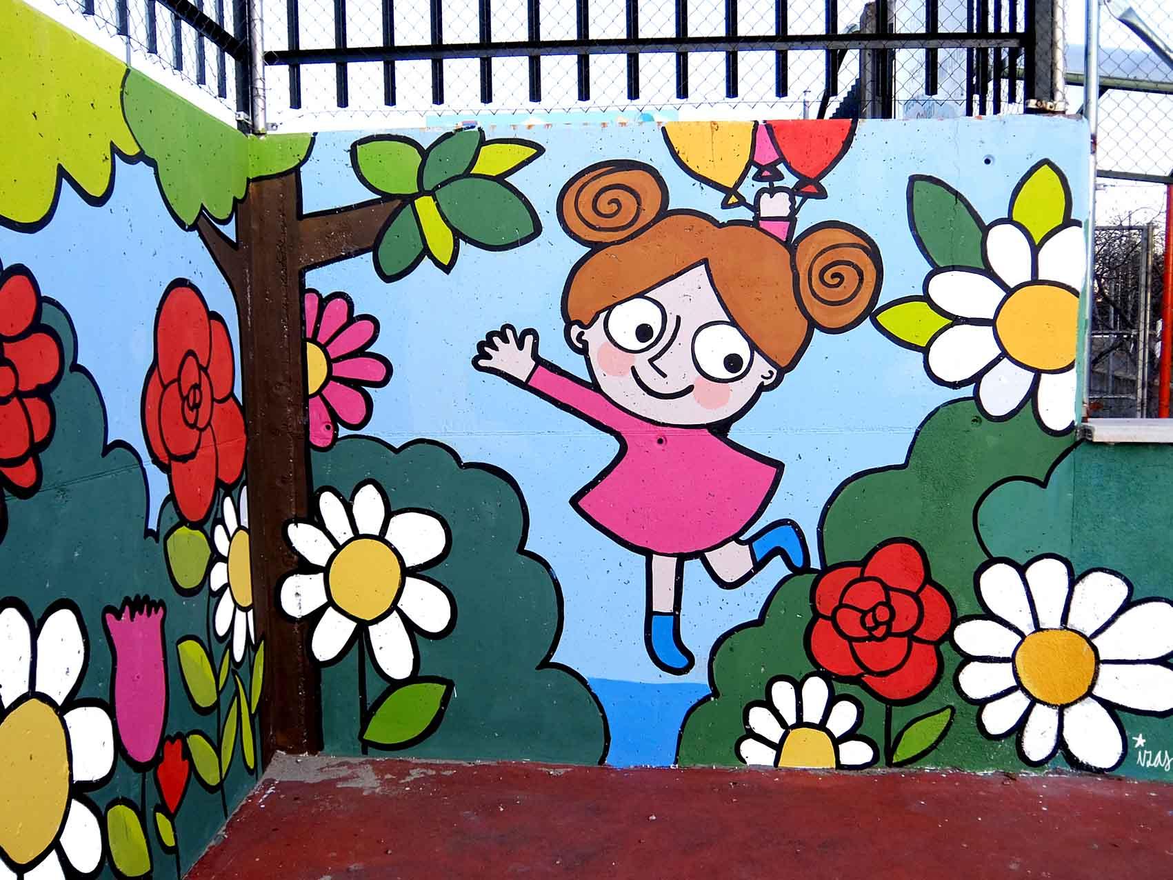 mural izas tierno galván infantil 8
