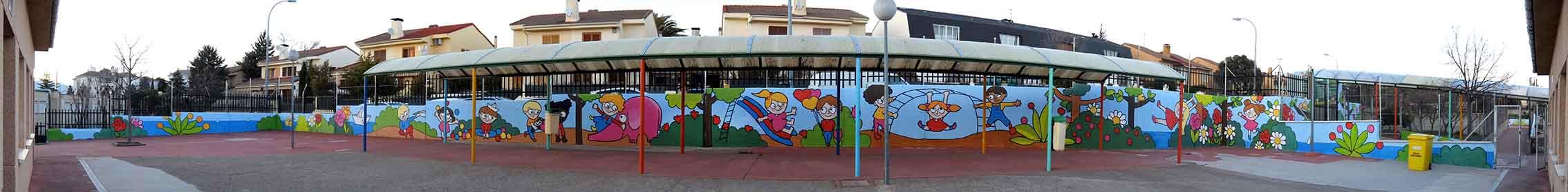 mural izas tierno galván infantil 9