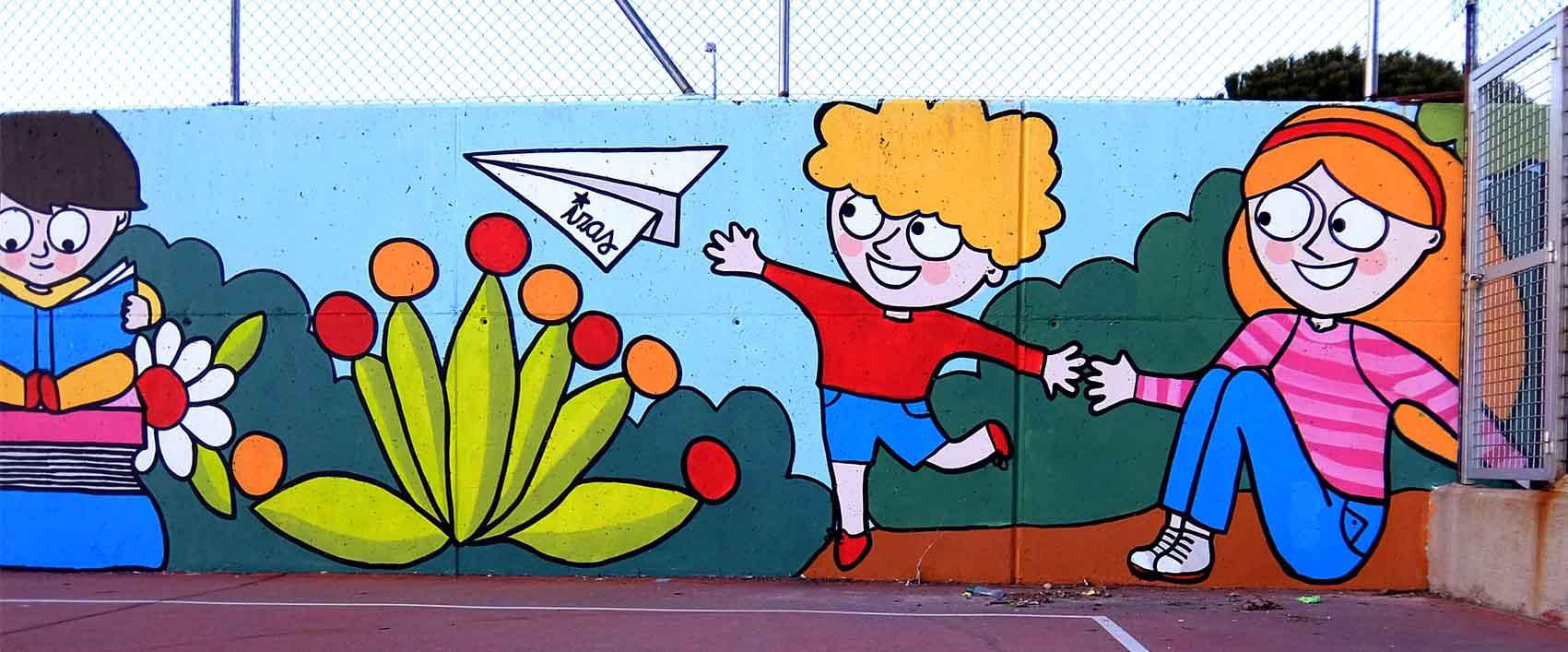 mural izas tierno galván multiusos 10