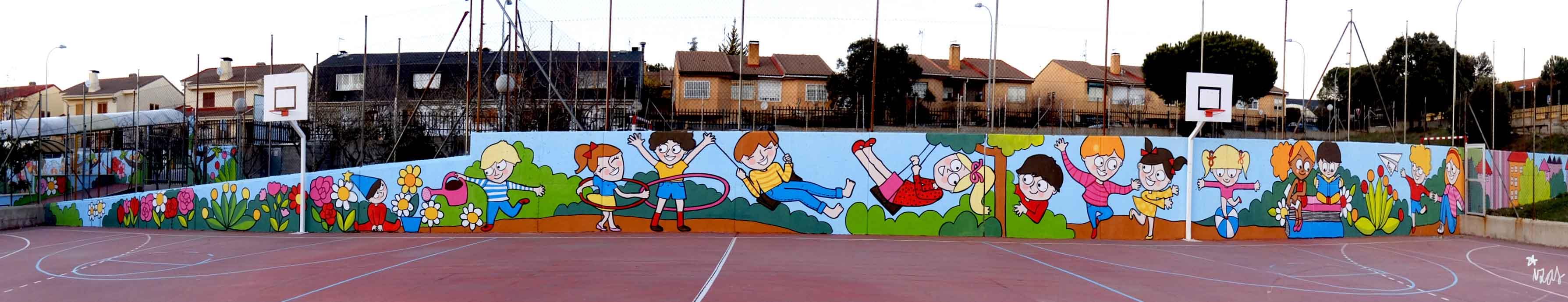 mural izas tierno galván primaria 1