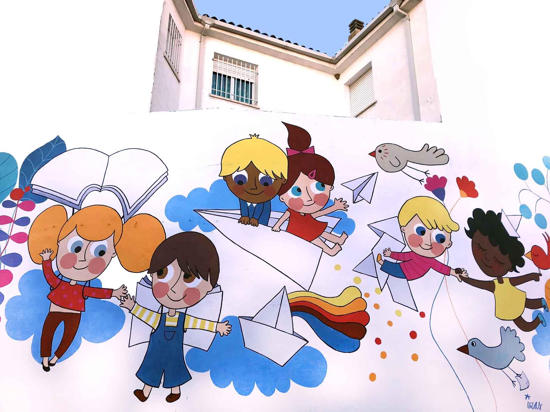 mural izas virgen de los remedios 2