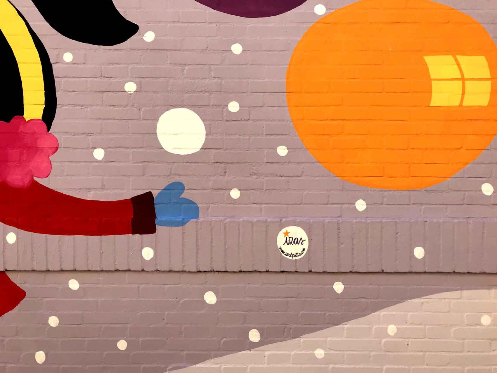 mural izas azulpatio cee fuenteminaya firma 2