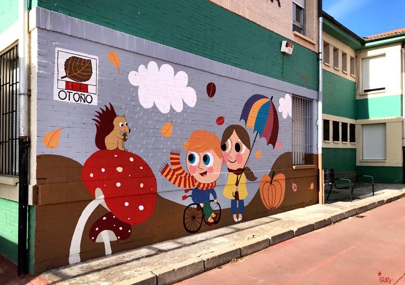 mural izas azulpatio cee fuenteminaya otoño izq 1