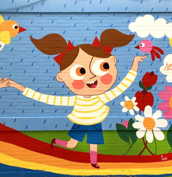 mural izas azulpatio cee fuenteminaya primavera detalle 7