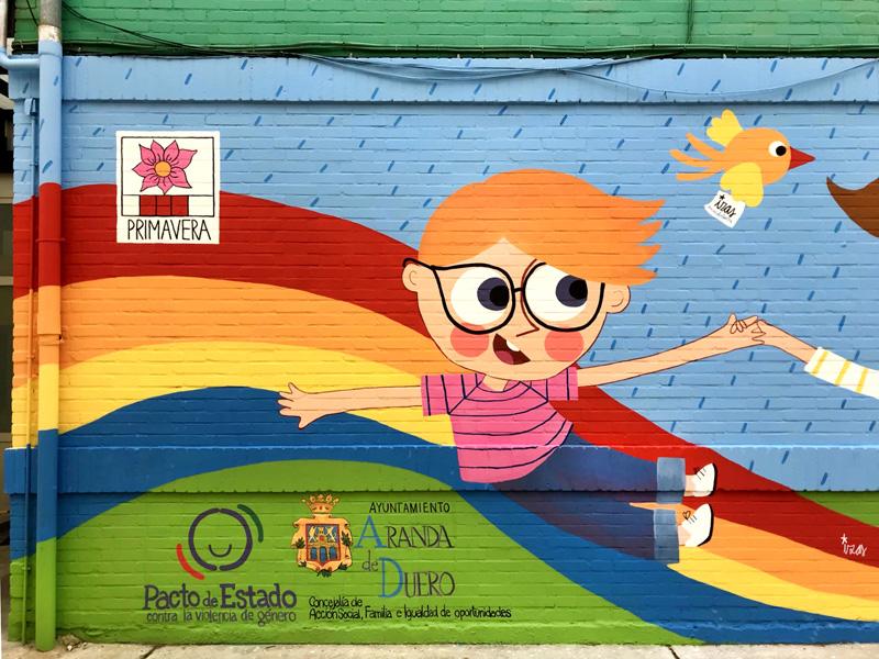 mural izas azulpatio cee fuenteminaya primavera detalle9