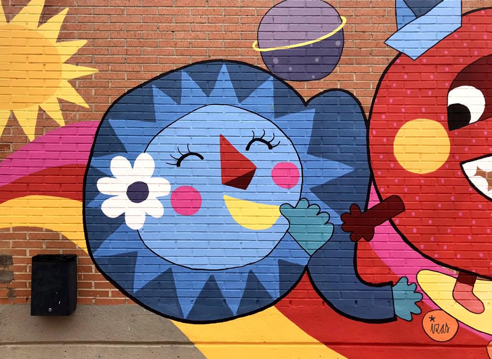azulpatio izas mural josé bergamín detalle a