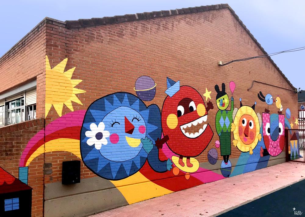 azulpatio izas mural josé bergamín pano izq