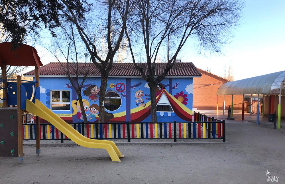 mural azulpatio izas josé bergamín valores pano 2