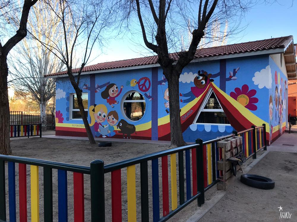mural azulpatio izas josé bergamín valores pano 3