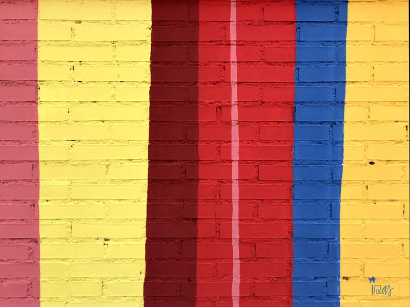 mural izas azulpatio ceip federico garcía lorca alcorcón rayas 2