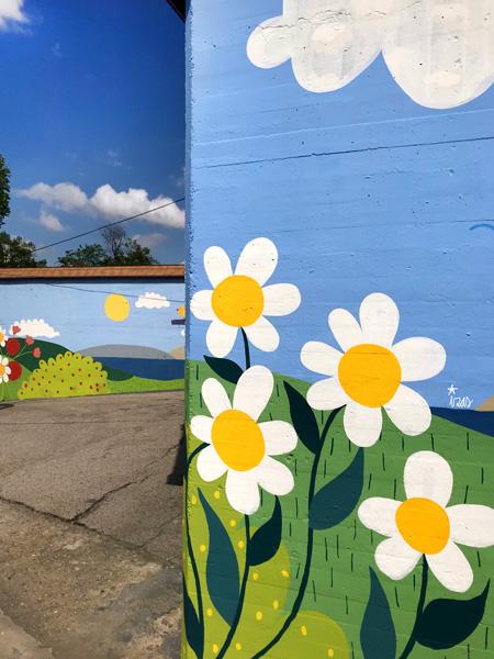 mural izas azulpatio ceip ramiro de maeztu detalle 6