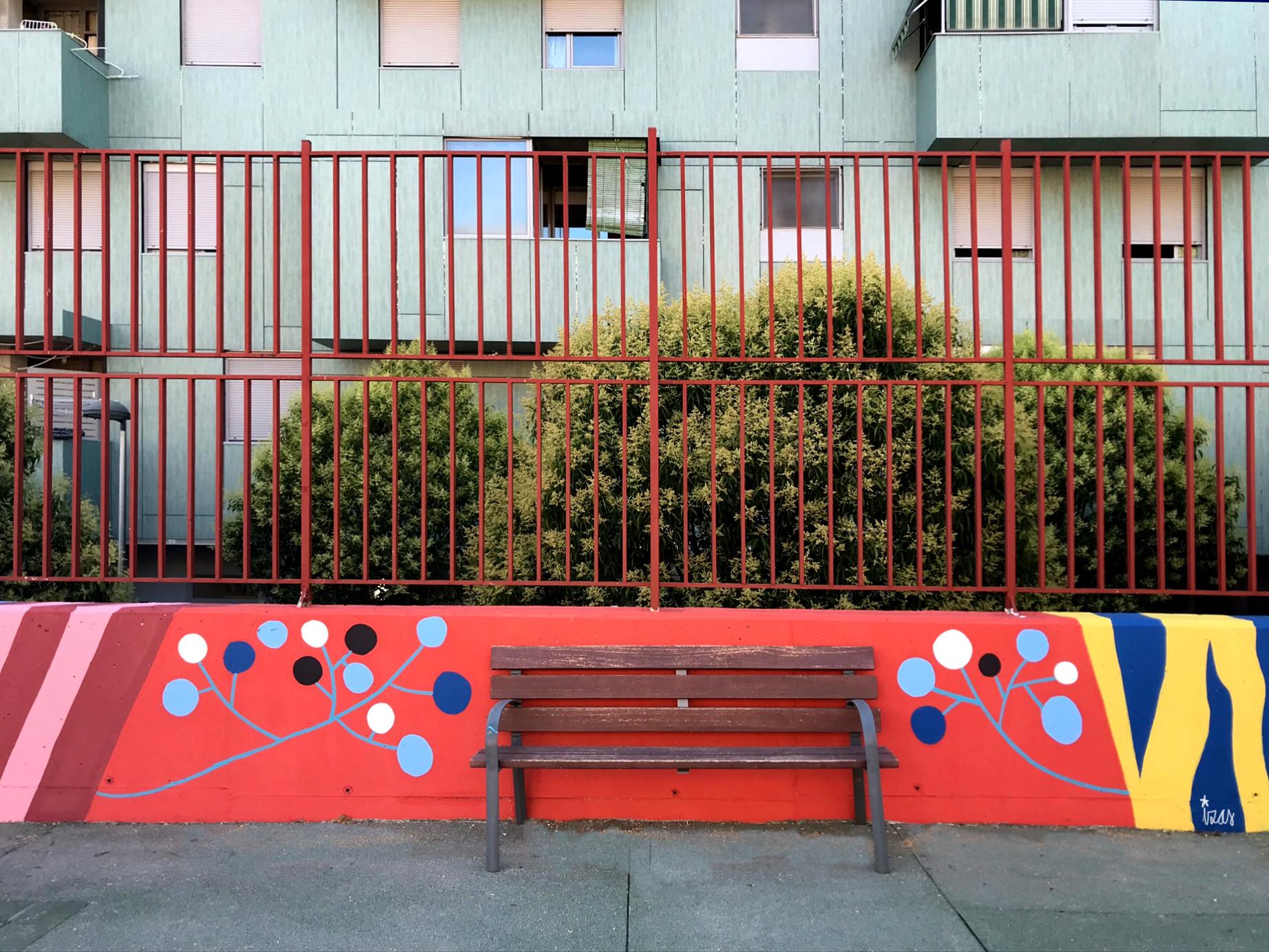 mural izas azulpatio ceip eduardo rojo patio detalle 13