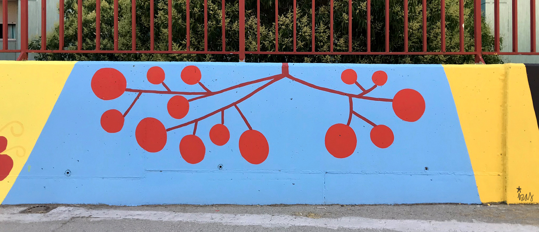 mural izas azulpatio ceip eduardo rojo patio detalle 16