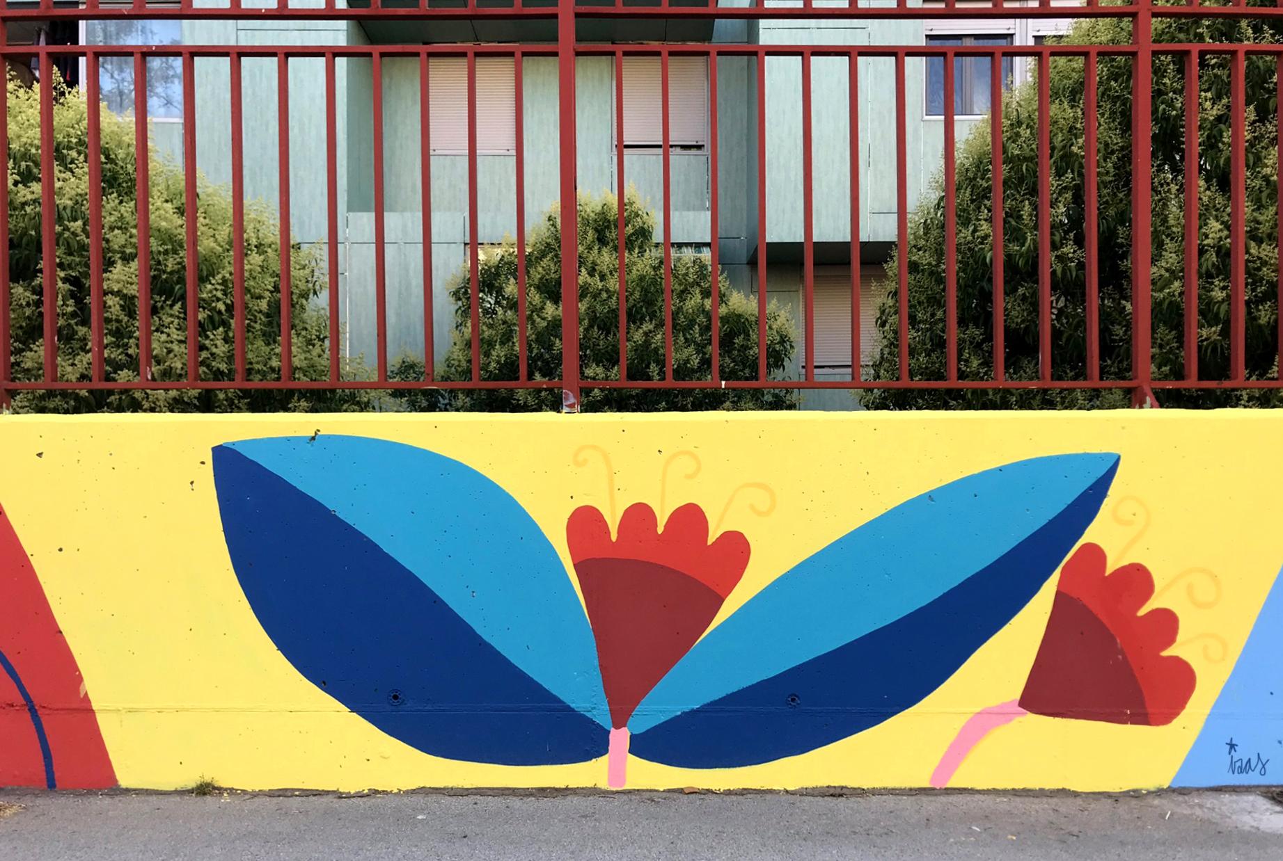 mural izas azulpatio ceip eduardo rojo patio detalle 17
