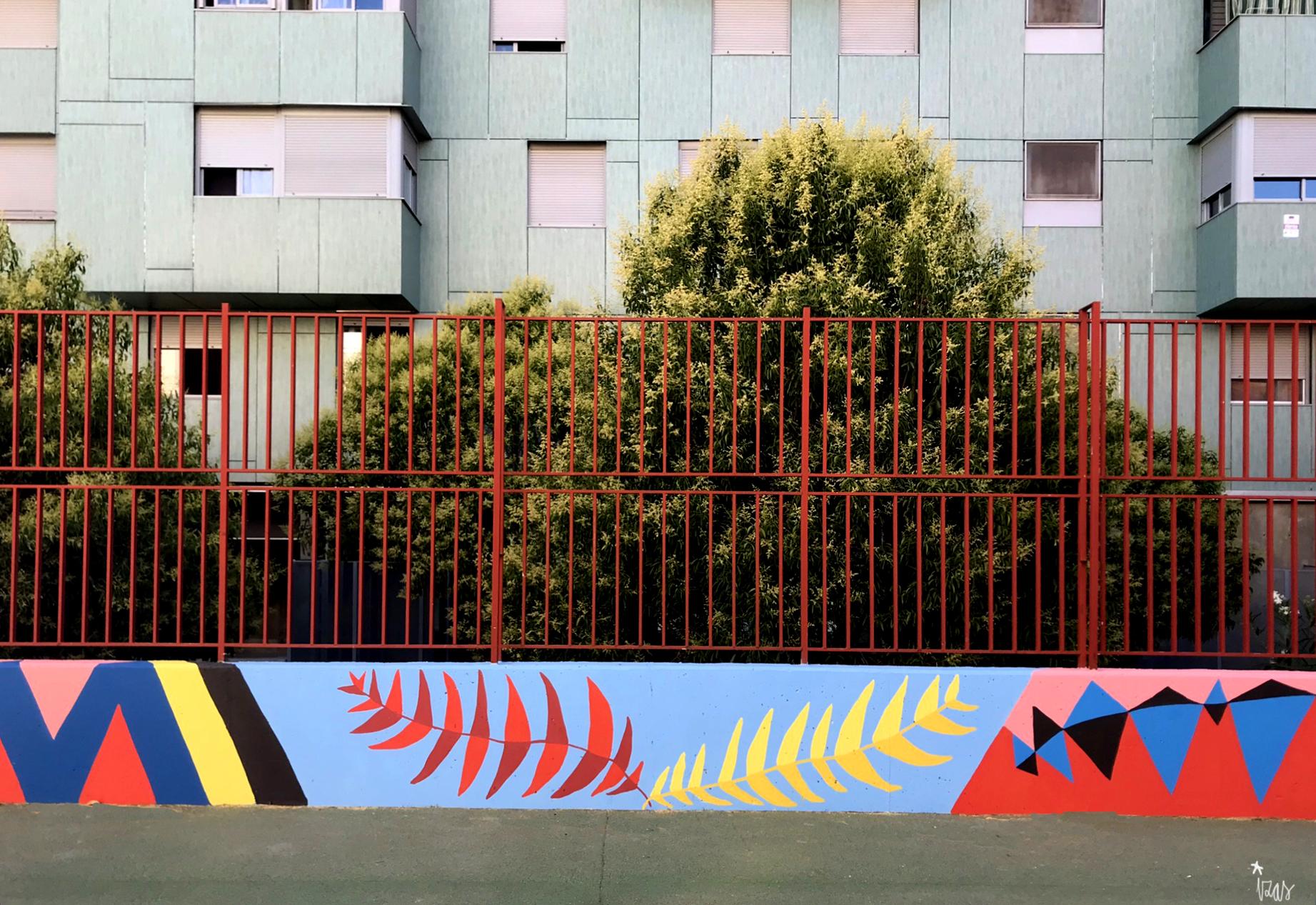 mural izas azulpatio ceip eduardo rojo patio detalle 20