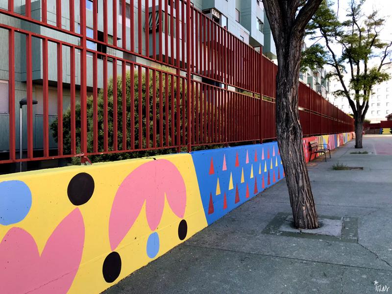 mural izas azulpatio ceip eduardo rojo patio pano 6