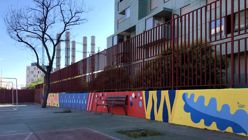 mural izas azulpatio ceip eduardo rojo patio pano 9
