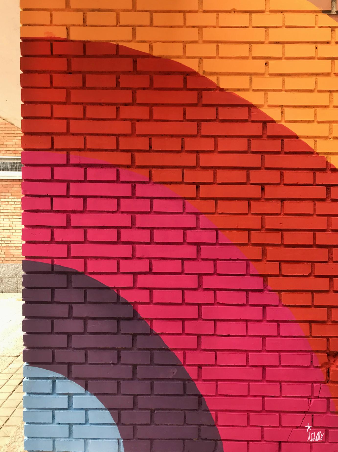 mural izas azulpatio ceip santo domingo entradas detalle