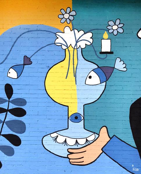 mural izas azulpatio lorca colmenar detalle 3
