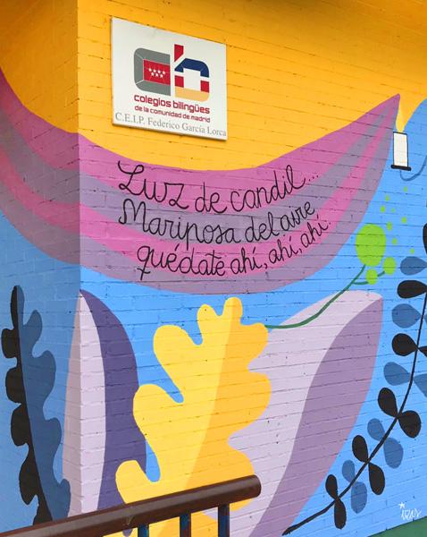 mural izas azulpatio lorca colmenar detalle 6