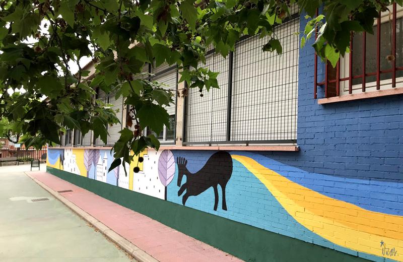 mural izas azulpatio lorca colmenar lateral dcha 2