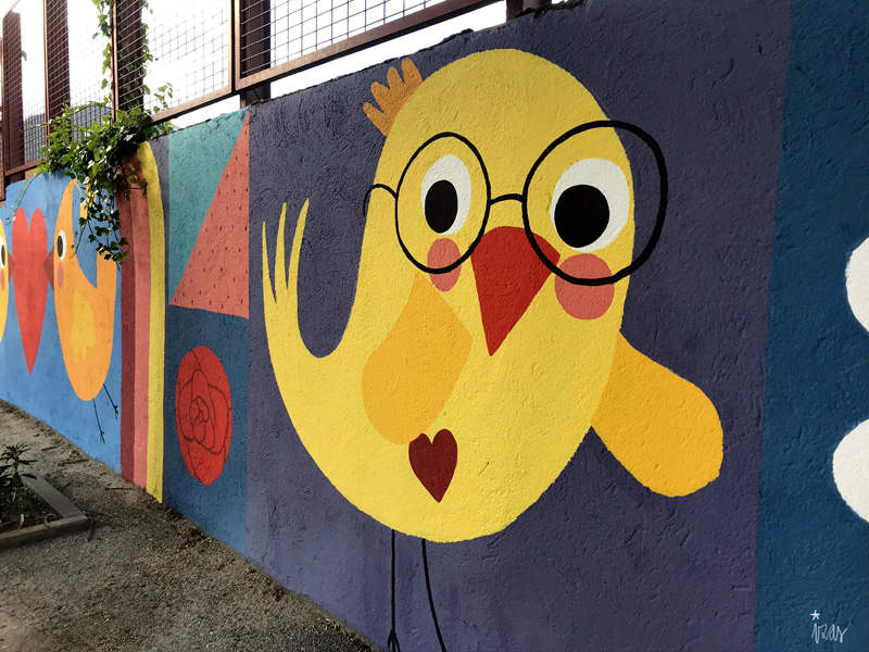 mural izas azul patio ntra sra asunción detalle 10