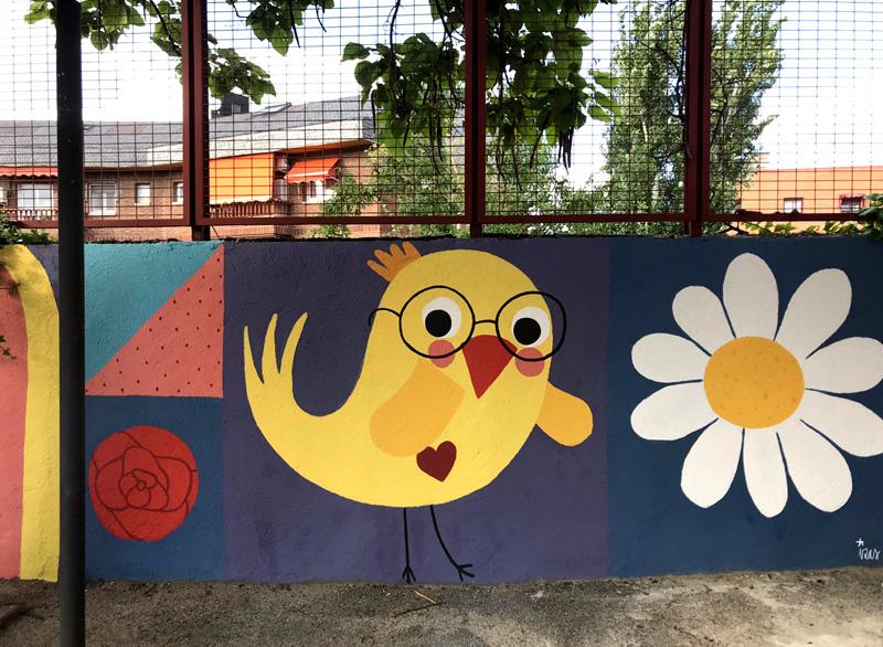 mural izas azul patio ntra sra asunción detalle 12