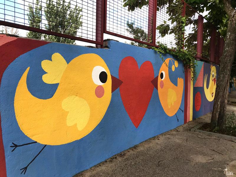 mural izas azul patio ntra sra asunción detalle 9