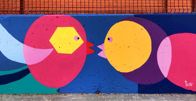 mural izas azulpatio ceip eduardo rojo exterior detalle 3