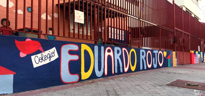 mural izas azulpatio ceip eduardo rojo exterior pano 8