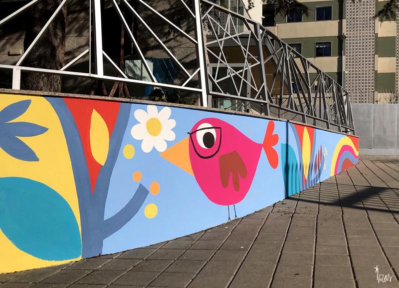 mural izas azulpatio san estanislao rampas 7