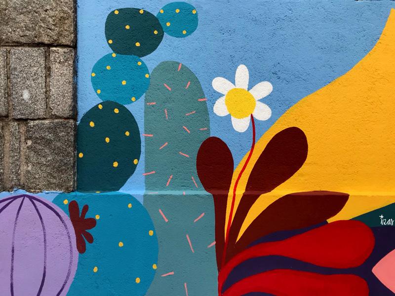 mural izas azulpatio ceip asunción rincón este 13
