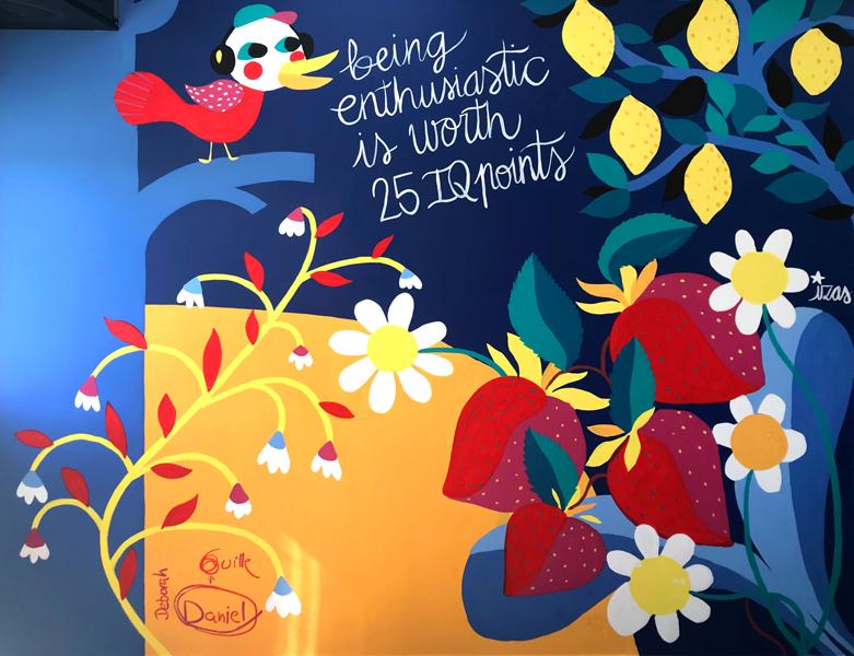 mural izas azulpatio avalon mercamadrid frente inf