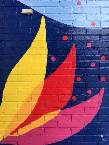mural izas azulpatio ceip virgen de la paz detalle 1