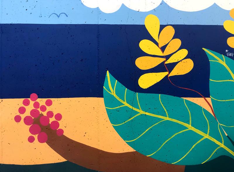 mural izas azulpatio colegio maria teresa detalle 6