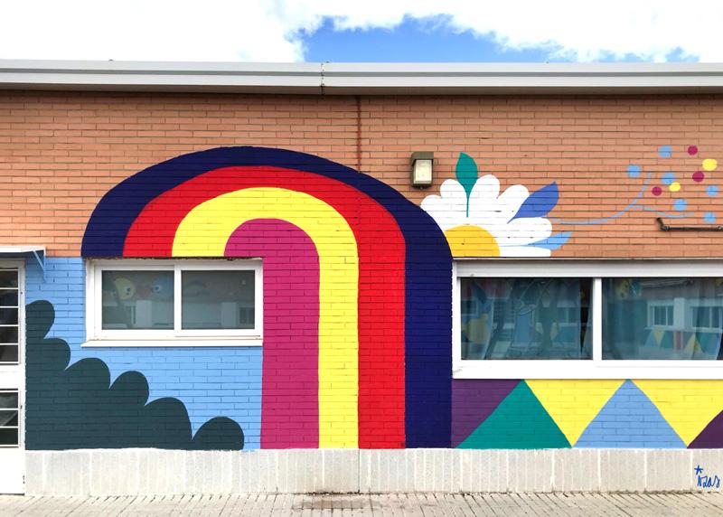 mural izas azulpatio cpee monte abantos infantil detalle 1