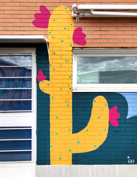 mural izas azulpatio cpee monte abantos infantil detalle 6