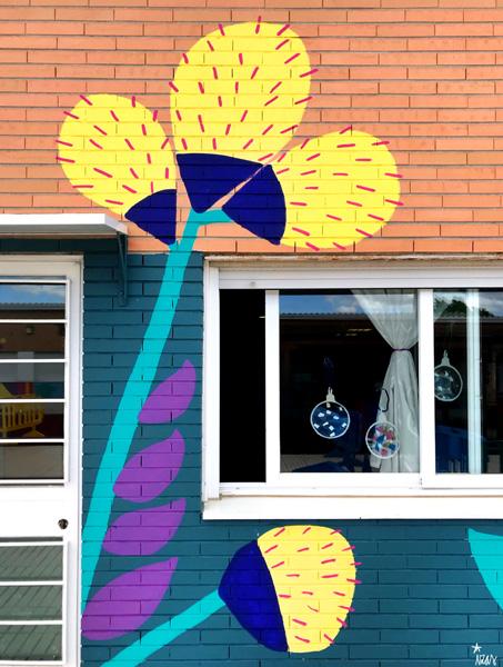 mural izas azulpatio cpee monte abantos infantil detalle 8