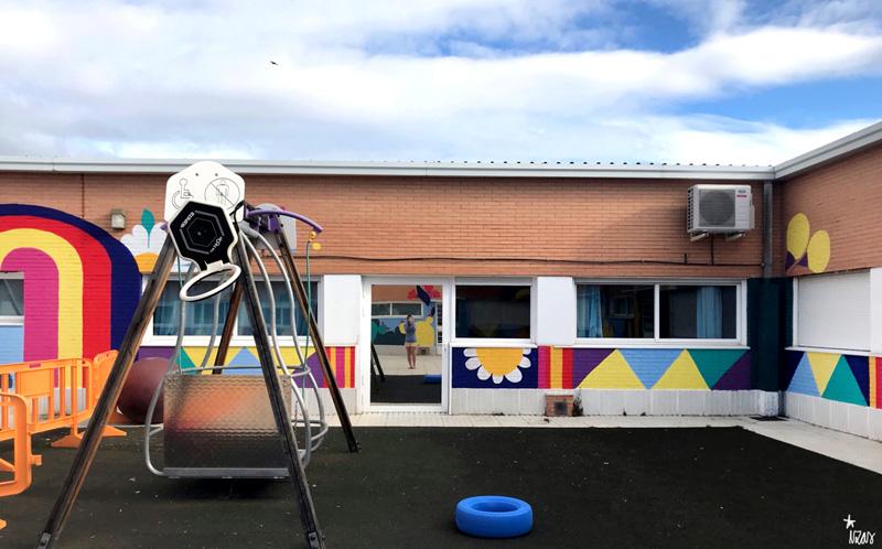 mural izas azulpatio cpee monte abantos infantil pano 10