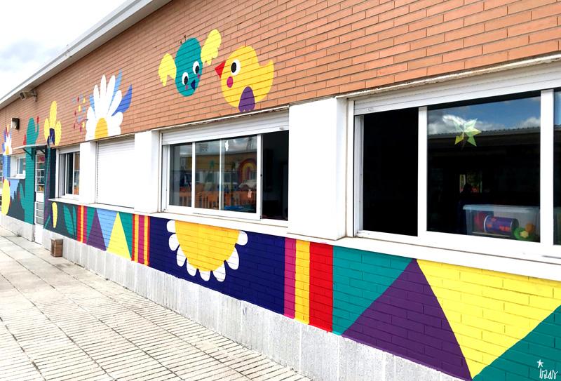 mural izas azulpatio cpee monte abantos infantil pano 11