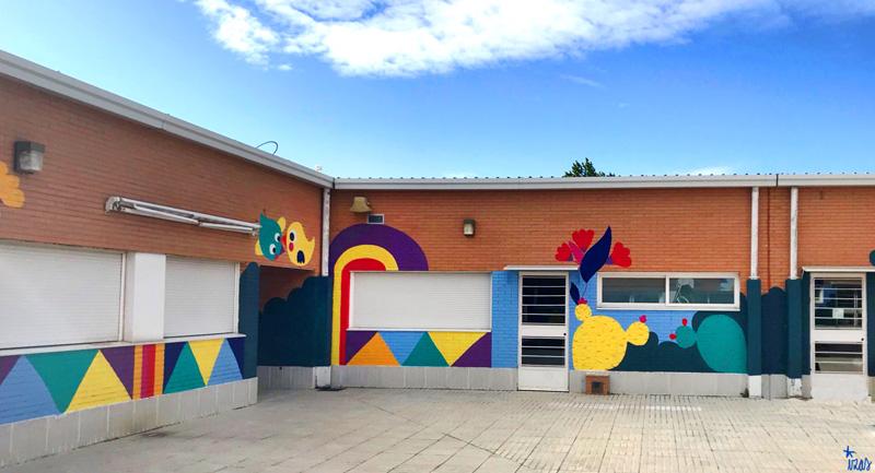 mural izas azulpatio cpee monte abantos infantil pano 13