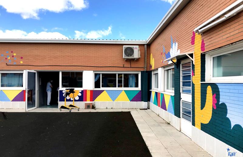 mural izas azulpatio cpee monte abantos infantil pano 8