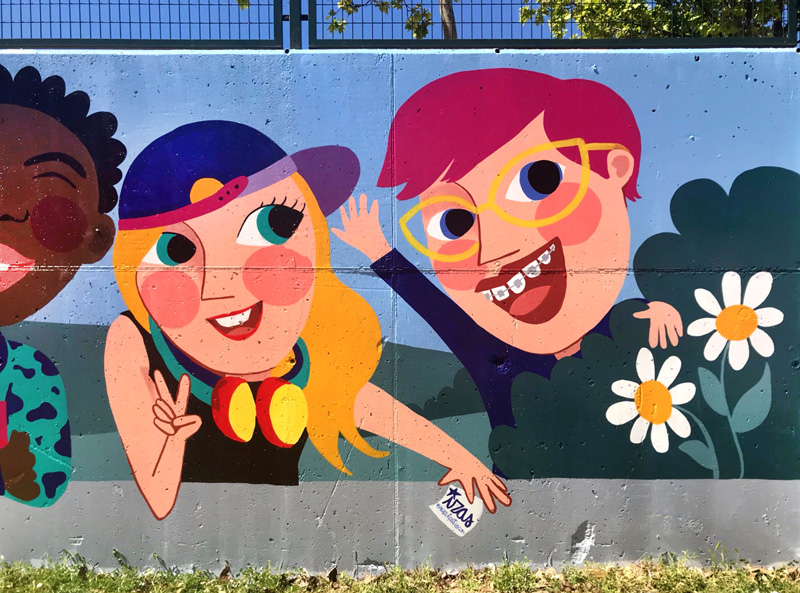 mural izas azulpatio cpee monte abantos mayores detalle 9
