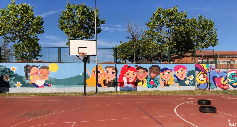 mural izas azulpatio cpee monte abantos mayores pano 1