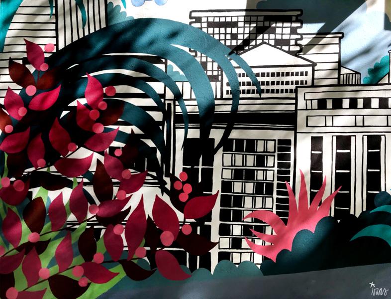 mural izas azulpatio mass arquitectura detalle 1